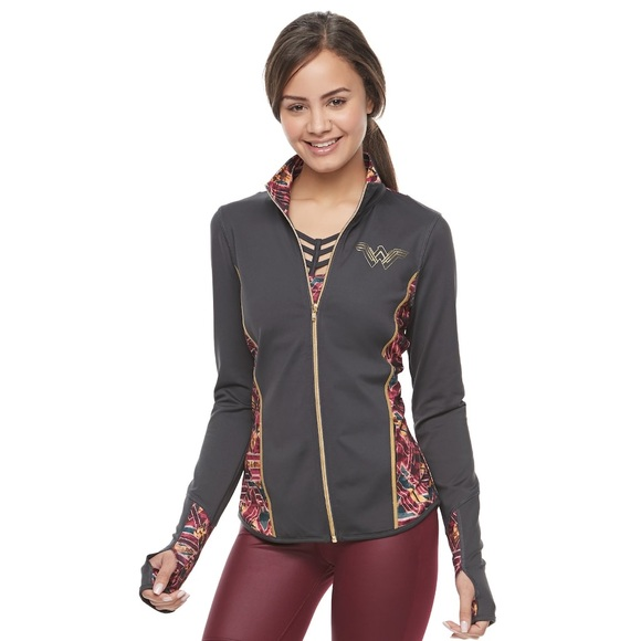 fde24d0e6251ee her universe Jackets & Blazers - Kohl's Her Universe Wonder Woman Track  Jacket